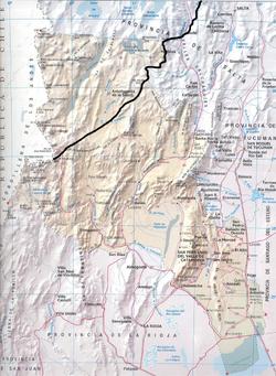 Mapa Catamarca (CNS)