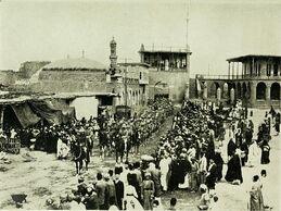 Вступление британцев в Багдад