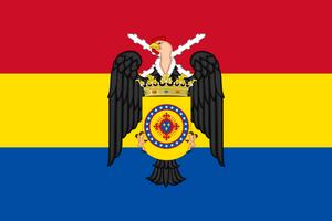 Флаг Королевства Новая Гранада