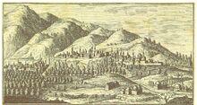 DALLAWAY(1801) p165 ANSICHT DER STADT BRUSA VOM OLYMP