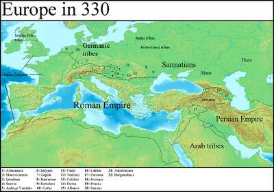 Europe in 330 (Gaul Rising)