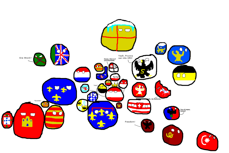 PM3 polandball Europe