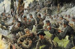 Австрйиская штыковая атака