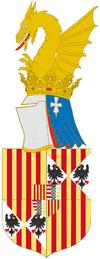 Escudo de Juan III de Aragón.
