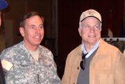 McCain with David Petraeus