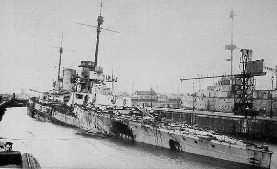 File:SMS Seydlitz after Jutland.jpg