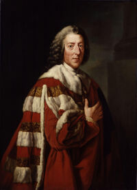 William Pitt, 1st Earl of Chatham by Richard Brompton