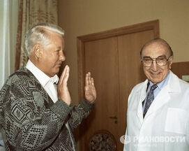 Ельцин и кардиохирург