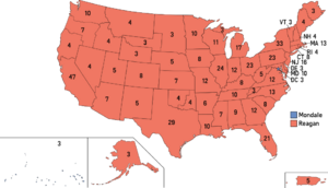 Election Map, 1984 (1861 HF)