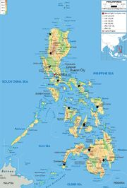 Philippines-200-physical-map