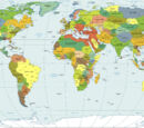 Моя первая альтернативная карта мира