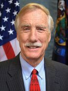 Angus King official portrait