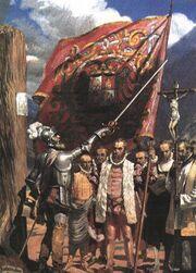 Pizarro führt die Armee
