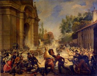 Восстание в Болонье