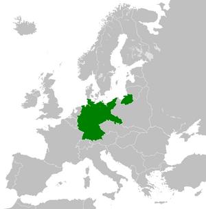 Территория Веймарской республики