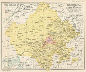 Rajputana 1909