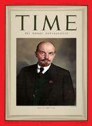 Владимир Ленин - человек года по версии журнала Time. 1938 год.