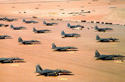800px-Multiple F-15E parked during Operation Desert Shield