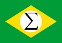 Flagge des faschistischen Brasilien