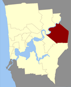 Map of Belmont County