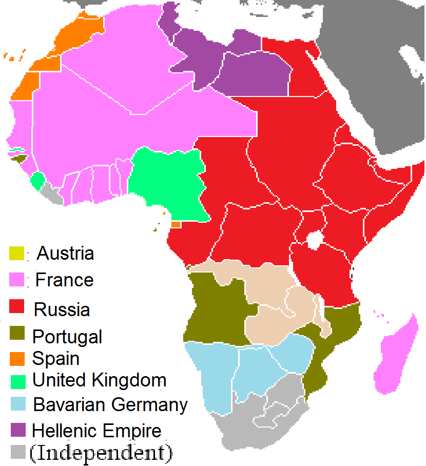 Image   Scramble for africa 2.png | Alternative History | FANDOM