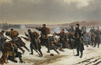 Йесляндцы атакуют