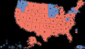 Election Map, 1988 (1861 HF)