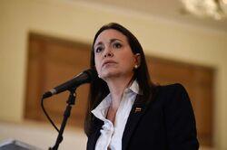 María Corina Machado rueda de prensa