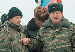 Генерал Трошев и Руслан Ямадаев