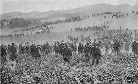 Наступление германских войск