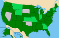 Ballot access of Jill Stein in the 2012 US presidential election.png