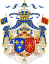 Grand Royal Coat of Arms of France & Navarre