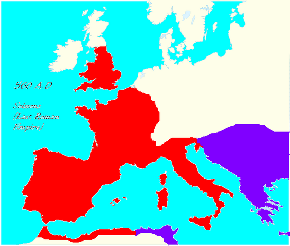 Image 705px Blank map Western Europe without borders atelier