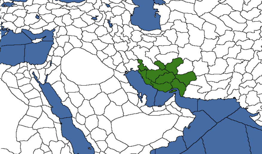 Image Map of Persia 3100 BCE Birth of Civilization