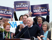 McCain announcing presidential run 2007