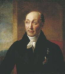 Портрет Сперанского Михаила Михайловича