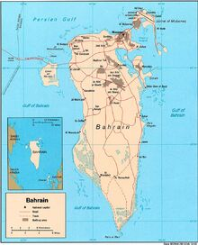 1983DD Bahrain Map