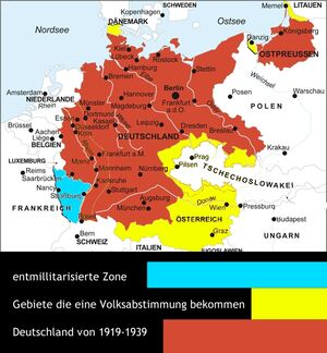 Deutschland nach WK 1 Friede für alle