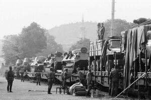 Вывод Советских войск из Чехо-Словакии