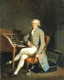 Робеспьер в кабинете