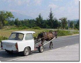 Horse-drawn-car