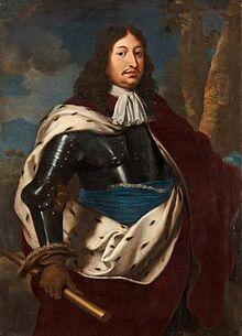 Justus van Egmont - Charles X Gustav of Sweden