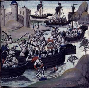 Осада Александрии крестоносцами