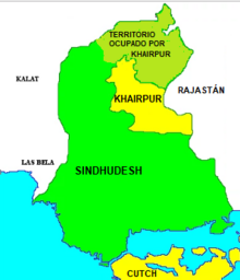 Khairpur mapa