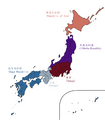 Map of Japan 1960 (Yellowstone 1935).png