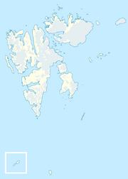 Spitzbergen Karte