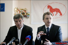 Немцов и Лебедько