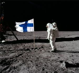 Finland moon