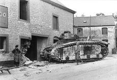 Französischer Panzer Char B1