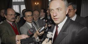 Козырев и журналисты